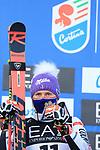 FIS Alpine World Ski Championships 2021 Cortina - Coronavirus Outbreak. Cortina d'Ampezzo, Italy on February 16, 2021. Parallel Event, Tessa Worley (FRA)