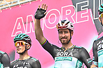 Peter Sagan (SVK) Bora-Hansgrohe at sign on before the start of Stage 2 of the 103rd edition of the Giro d'Italia 2020 running 149km from Alcamo to Agrigento, Sicily, Italy. 4th October 2020.  <br /> Picture: LaPresse/Massimo Paolone | Cyclefile<br /> <br /> All photos usage must carry mandatory copyright credit (© Cyclefile | LaPresse/Massimo Paolone)