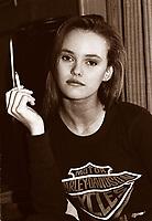 Vanessa Paradis exclusive photo , circa 1988