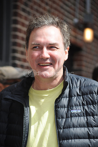 Norm MacDonald at the Ed Sullivan Theater for an appearance on Late Show with David Letterman in New York City. March 30, 2011 Credit: Dennis Van Tine/MediaPunch