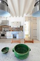 green ceramic bowls