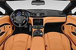 Stock photo of straight dashboard view of 2018 Maserati Gran-Turismo Sport 2 Door Convertible Dashboard