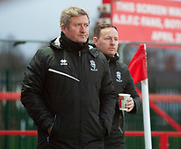 Lincoln City's assistant manager David Kerslake, left, and Lincoln City's first team development coach Richard O'Donnell<br /> <br /> Photographer Andrew Vaughan/CameraSport<br /> <br /> The EFL Sky Bet League One - Accrington Stanley v Lincoln City - Saturday 21st November 2020 - Crown Ground - Accrington<br /> <br /> World Copyright © 2020 CameraSport. All rights reserved. 43 Linden Ave. Countesthorpe. Leicester. England. LE8 5PG - Tel: +44 (0) 116 277 4147 - admin@camerasport.com - www.camerasport.com