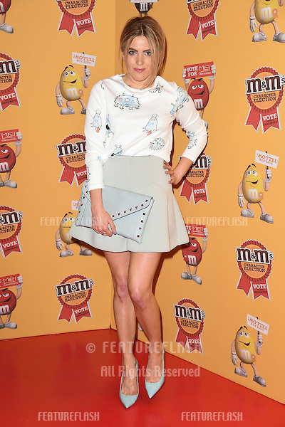Olivia Cox at the M&M's Character Election Event, M&M store, Leicester Square, London. 14/04/2015 Picture by: Steve Vas / Featureflash