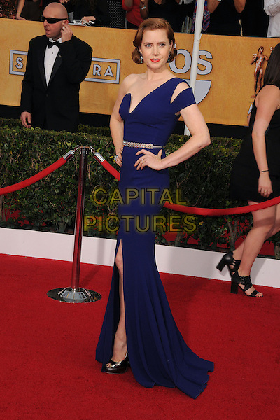 18 January 2014 - Los Angeles, California - Amy Adams. 20th Annual Screen Actors Guild Awards - Arrivals held at The Shrine Auditorium. Photo Credit: Byron Purvis/AdMedia<br /> CAP/ADM/BP<br /> ©Byron Purvis/AdMedia/Capital Pictures