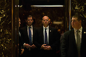 Eric Trump, son of President-elect Donald Trump arrives at Trump Tower in Manhattan, New York, U.S., on Friday, November 18, 2016.<br /> Credit: John Taggart / Pool via CNP