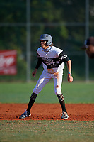 James Brody Delamielleure (20) during the WWBA World Championship at Terry Park on October 11, 2020 in Fort Myers, Florida.  James Brody Delamielleure, a resident of Saint Augustine, Florida who attends Bartram Trail High School, is committed to Notre Dame.  (Mike Janes/Four Seam Images)