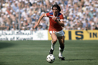 16th June 1982: World Cup match England versus France in Bilbao Paul Mariner England ; Mariner died on 9th July from a brain cancer at age 68