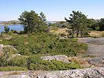 Granite Bedrock and Islands in Kökar, Åland, Finland