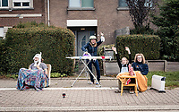 modest roadside activities during this pandemic edition of the 104th Ronde van Vlaanderen 2020 (1.UWT)<br /> 1 day race from Antwerpen to Oudenaarde (BEL/243km) <br /> <br /> ©kramon
