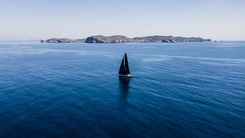 Mirpuri Foundation Racing Team sailing in Leg 3 from Alicante to Genoa