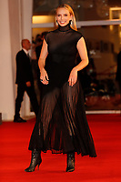 """VENICE, ITALY - SEPTEMBER 10: Jodie Comer attends the red carpet of the movie """"The Last Duel"""" during the 78th Venice International Film Festival on September 10, 2021 in Venice, Italy. <br /> CAP/GOL<br /> ©GOL/Capital Pictures"""