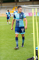 Luke O'Nien of Wycombe Wanderers during the Open Training Session in front of supporters during the Wycombe Wanderers 2016/17 Team & Individual Squad Photos at Adams Park, High Wycombe, England on 1 August 2016. Photo by Jeremy Nako.
