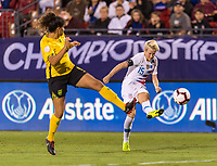 Frisco, TX - October 14, 2018:  The USWNT defeated Jamaica 6-0 during the semifinals of the 2018 CONCACAF Women's Championship.