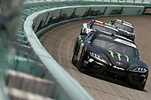 HOMESTEAD, FLORIDA - JUNE 14: Riley Herbst, driver of the #18 Monster Energy Toyota, drives during the NASCAR Xfinity Series Contender Boats 250 at Homestead-Miami Speedway on June 14, 2020 in Homestead, Florida. (Photo by Michael Reaves/Getty Images)