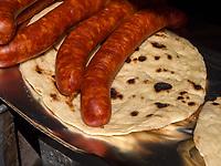 Grillen  beim Traubenfest, Vrsac, Vojvodina, Serbien, Europa<br /> Barbecue at the wine-festival, Vrsac, Vojvodina, Serbia, Europe