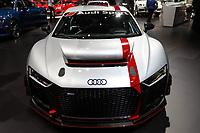 NEW YORK, EUA, 13.04.2017 - AUTOMÓVEL-NEW YORK - Audi Sport é visto durante o New York Internacional Auto Show no Javits Center na cidade de New York nesta quinyta-feira, 13. O evento é aberto ao público do dia 14 à 23 de abril de 2017 . (Foto: Vanessa Carvalho/Brazil Photo Press)