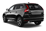 Car pictures of rear three quarter view of 2017 Volvo XC60 R-Design 5 Door SUV Angular Rear