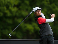 21.05.2015. Wentworth, England. BMW PGA Golf Championship. Round 1.  Hao-Tong Li [CHN] on the Par 4 3rd, during the first round of the 2015 BMW PGA Championship from The West Course Wentworth Golf Club