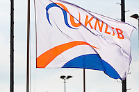 Netherlands, Rotterdam August 08, 2015, Tennis,  National Junior Championships, NJK, TV Victoria, Flag<br /> Photo: Tennisimages/Henk Koster