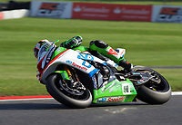 Leon Haslam of JG Speedfit Kawasaki during race two of the MCE British Superbikes in Association with Pirelli round 12 2017 - BRANDS HATCH (GP) at Brands Hatch, Longfield, England on 15 October 2017. Photo by Alan  Stanford / PRiME Media Images.