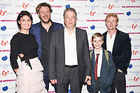 "Lyne Renee director, John Jencks and Roger Allam and Dean Ridge<br /> at the premiere of ""The Hippopotamus"" at the Mayfair Hotel, London. <br /> <br /> <br /> ©Ash Knotek  D3269  31/05/2017"