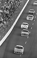 Action in the Heinz Southern 500 at Darlington Raceway in Darlington, SC on September 3, 1989. (Photo by Brian Cleary/www.bcpix.com)