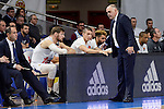 Real Madrid's coach Pablo Laso during match of Turkish Airlines Euroleague at Barclaycard Center in Madrid. November 24, Spain. 2016. (ALTERPHOTOS/BorjaB.Hojas)