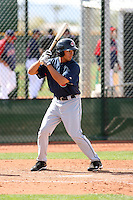 Josh Rodriguez, Cleveland Indians 2010 minor league spring training..Photo by:  Bill Mitchell/Four Seam Images.