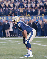 Pitt running back James Conner.The Pitt Panthers defeated the Syracuse Orange 30-7 at Heinz Field, Pittsburgh, Pennsylvania on November 22, 2014.