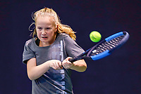 Hilversum, Netherlands, December 3, 2017, Winter Youth Circuit Masters, 12,14,and 16, years, Britt du Pree (NED)<br /> Photo: Tennisimages/Henk Koster