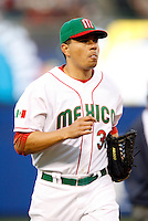 Luis Garcia of Mexico during the World Baseball Championships at Angel Stadium in Anaheim,California on March 16, 2006. Photo by Larry Goren/Four Seam Images