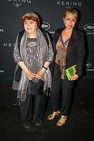 Agnes Varda en photocall avant la soiréee Kering Women In Motion Awards lors du soixante-dixième (70ème) Festival du Film à Cannes, Place de la Castre, Cannes, Sud de la France, dimanche 21 mai 2017. Philippe FARJON / VISUAL Press Agency