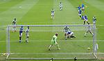 02.05.2021 Rangers v Celtic: Kemar Roofe scores his first goal
