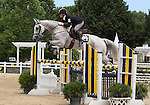12 July 2009: Callie Judy riding Call On Me during the showjumping phase of the CIC 2* Maui Jim Horse Trials at Lamplight Equestrian Center in Wayne, Illinois.