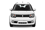 Car photography straight front view of a 2018 Suzuki Ignis GLX 5 Door Hatchback