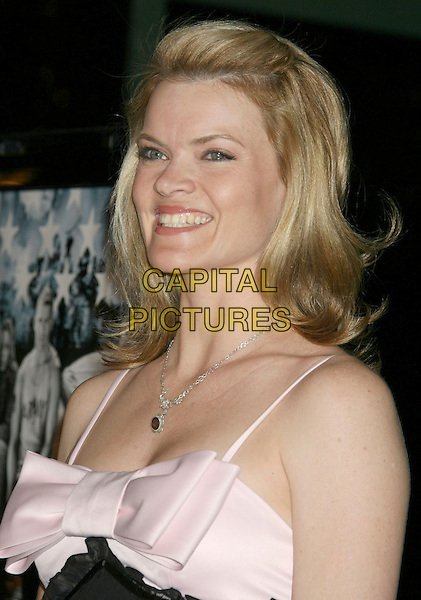 """MISSI PYLE.""""Stop-Loss"""" Los Angeles Premiere held at the Directors Guild of America Theater, Los Angeles, California, USA,.17 March 2008..portrait headshot pink bow.CAP/ADM/RE.©Russ Elliot/Admedia/Capital PIctures"""