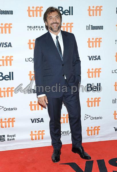"10 September 2017 - Toronto, Ontario Canada - Javier Bardem. 2017 Toronto International Film Festival - ""mother!"" Premiere held at TIFF Bell Lightbox. Photo Credit: Brent Perniac/AdMedia"