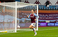 4th October 2020, Villa Park, Birmingham, England;  Aston Villa s Jack Grealish celebrates scoring his 2nd goal in the 75th minute during the English Premier League match between Aston Villa and Liverpool at Villa Park