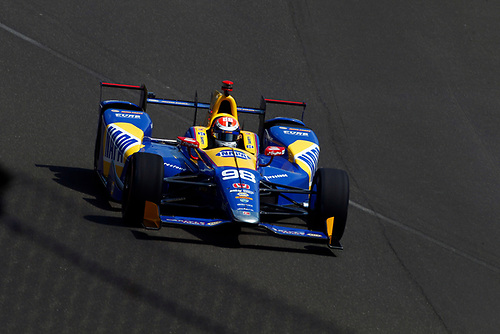 Verizon IndyCar Series<br /> Indianapolis 500 Carb Day<br /> Indianapolis Motor Speedway, Indianapolis, IN USA<br /> Friday 26 May 2017<br /> Alexander Rossi, Andretti Herta Autosport with Curb-Agajanian Honda<br /> World Copyright: Phillip Abbott<br /> LAT Images<br /> ref: Digital Image abbott_indy_0517_26991