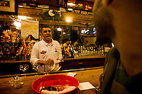 At the oldest cantina of all Mexico and the Californias (California in USA and Baja California Mexico) opened in the year of 1892 and where the famous mexican drink known as Margarita was created, Hussong´s cantina.