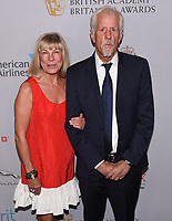25 October 2019 - Westwood, California - Paige Simpson, Michael Apted. 2019 British Academy Britannia Awards presented by American Airlines and Jaguar Land Rover held at the Beverly Hilton Hotel. Photo Credit: Billy Bennight/AdMedia /MediaPunch
