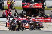 NASCAR XFINITY Series<br /> Pocono Green 250<br /> Pocono Raceway, Long Pond, PA USA<br /> Saturday 10 June 2017<br /> Dylan Lupton, Nut Up Toyota Camry pit stop<br /> World Copyright: Russell LaBounty<br /> LAT Images<br /> ref: Digital Image 17POC1rl_03219