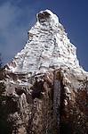 Matterhorn Mountan at Disneyland in Orange County, CA