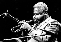 FILE PHOTO  Dizzy Gillespie<br />  circa 1988<br /> <br /> <br /> Photo by Denis Alix - Agence Quebec Presse
