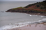 Langland Bay, Swansea, UK, 14th November 2020<br />