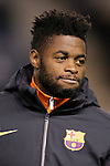 FC Barcelona's Alex Song during Spanish King's Cup match.October 30,2012. (ALTERPHOTOS/Acero)