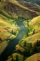 Grand Ronde Wild and Scenic River and canyon. Oregon