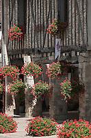 Europe/France/Midi-Pyrénées/32/Gers/Fources: Maison fleurie, la mairie