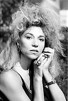 August 29, 1987 File Photo - Montreal (Qc) Canada - actress Myriam Mezieres at the 1987 World Film Festival.